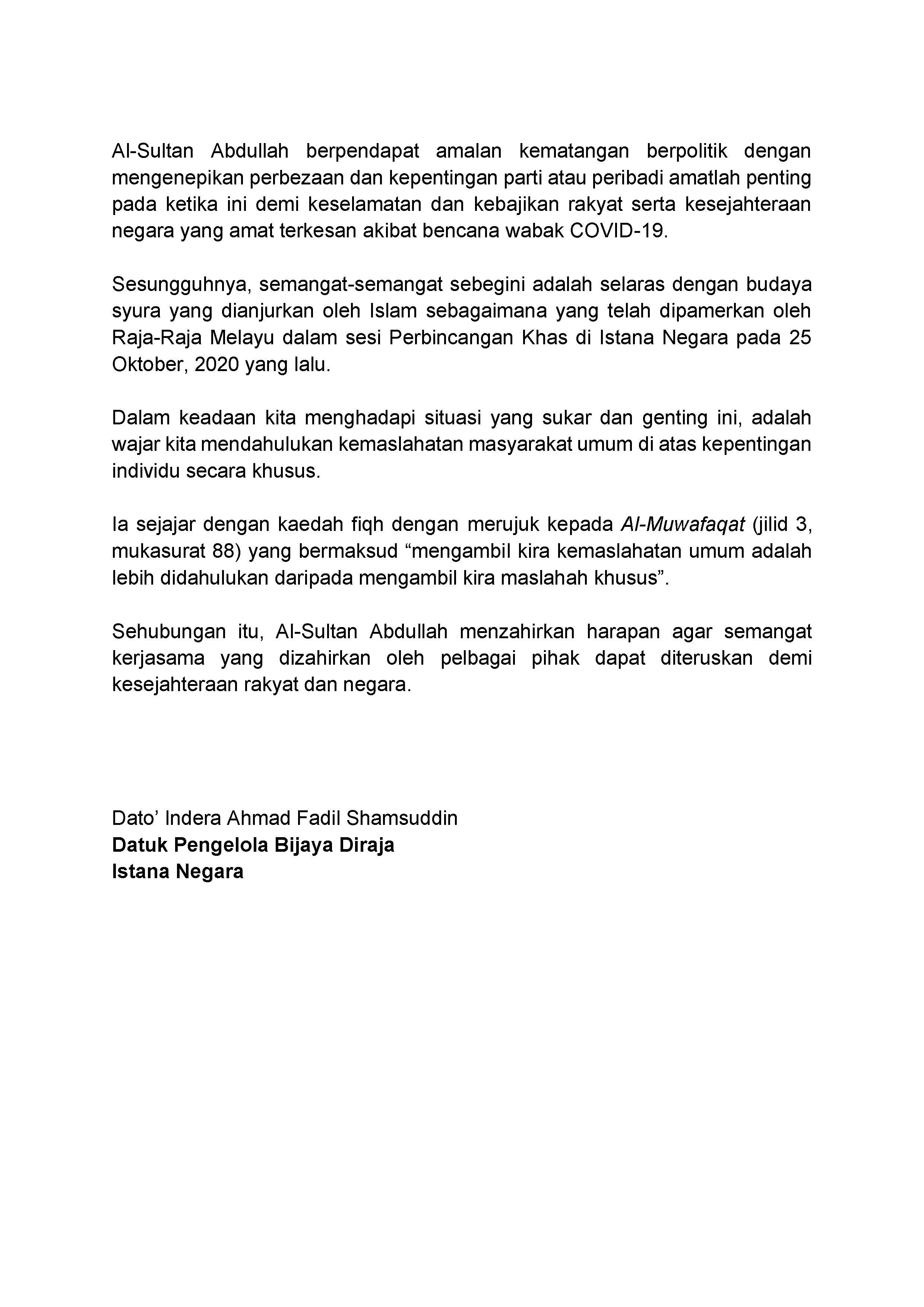 Penyediaan Belanjawan 2021 (2)